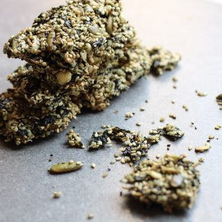 Sweet and Salty Sesame Seaweed Bars