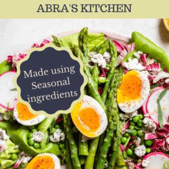 Insanely Delicious Asparagus Salad