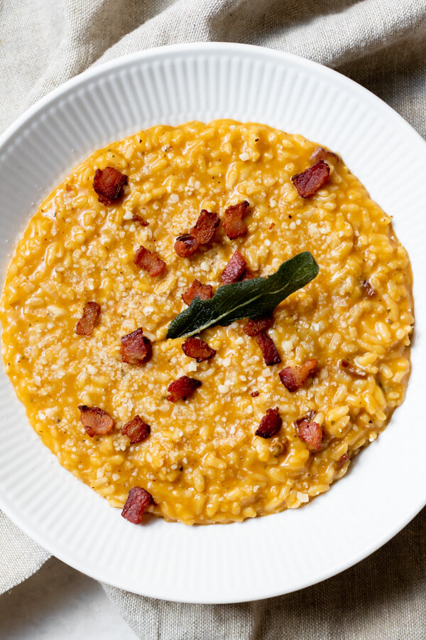 Instant Pot Pumpkin Risotto