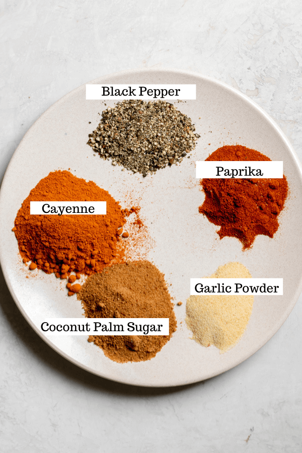 spices needed for Nashville Style Hot Chicken spice mix