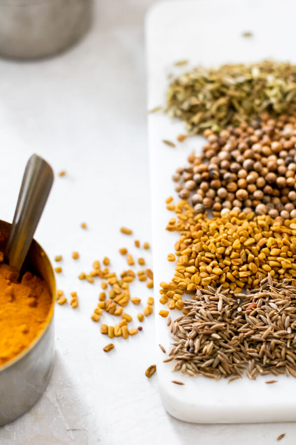 spices for ayurvedic kitchari