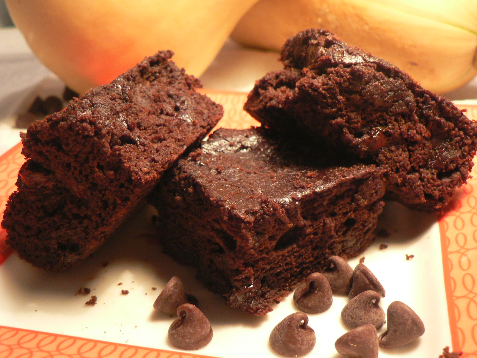 Butternut Squash Brownies