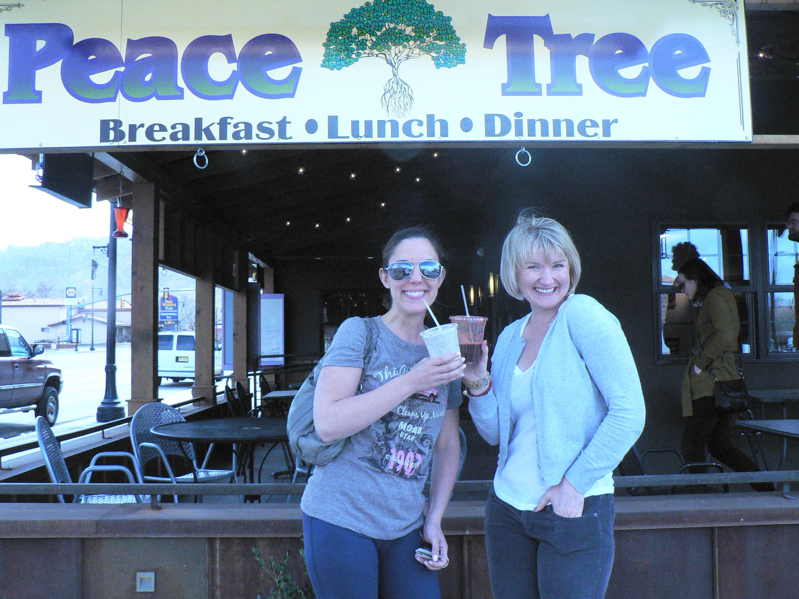 Peace Tree Cafe, Moab Utah
