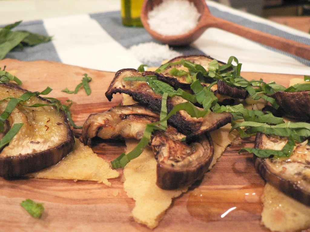 eggplant socca