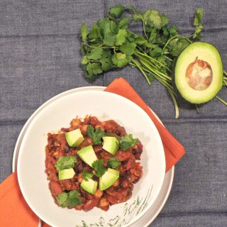 chocolate stout vegetarian chili