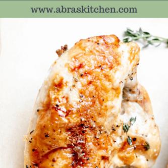 Perfect Roast Split Chicken Breast
