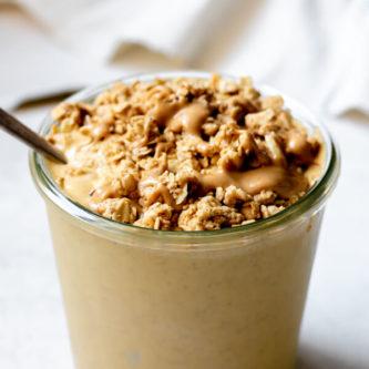 Low Sugar Pumpkin Protein Smoothie