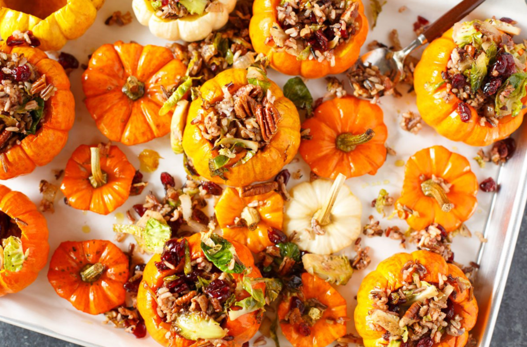 savory stuffed mini pumpkins + 35 other great pumpkin recipes!