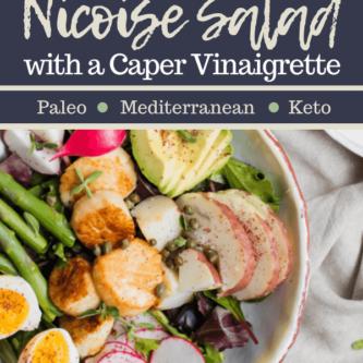 Seared Scallop Nicoise Salad
