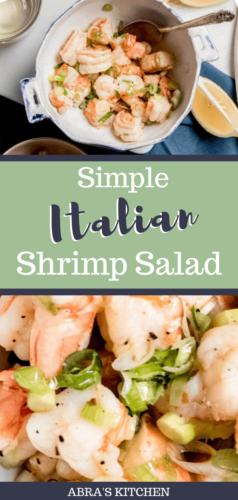 Italian Olive Oil Shrimp Salad