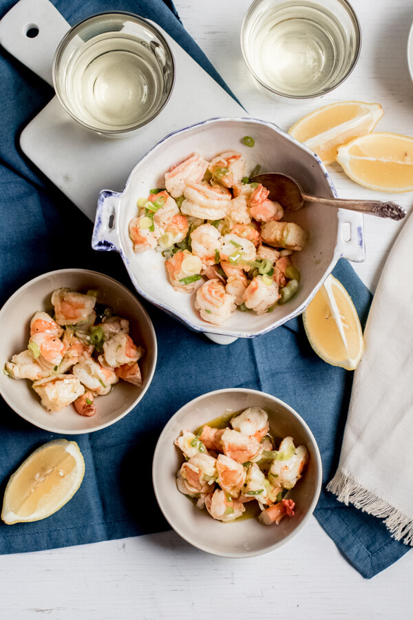 Italian Olive Oil Shrimp Salad