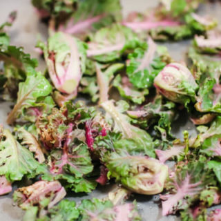 Simple Roasted Kale Sprouts are a flavorful addition to your table. This simple roasted recipe is packed with vitamins and key nutrients for a tasty dish that steals the show at any meal!