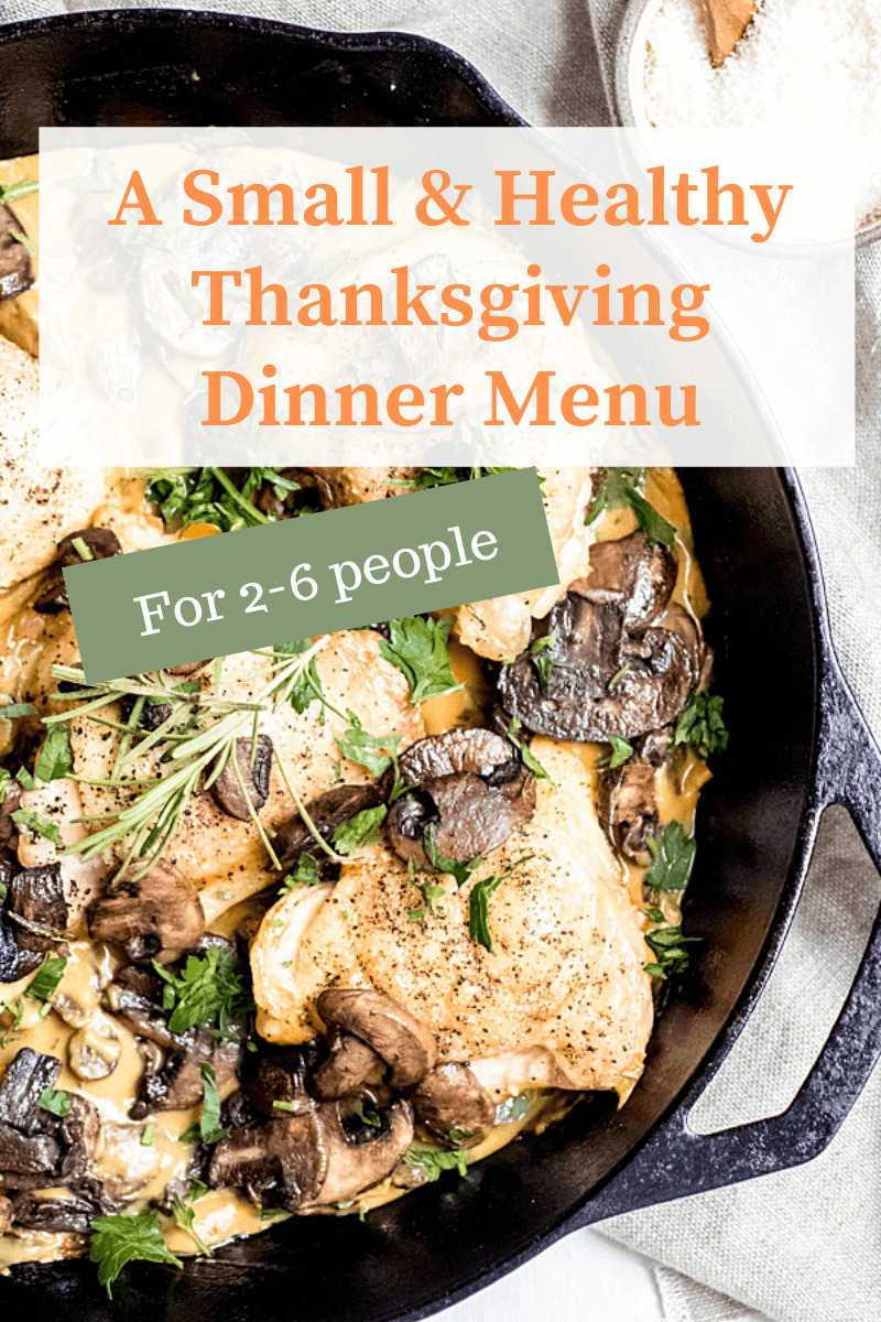 Small Healthy Thanksgiving Menu