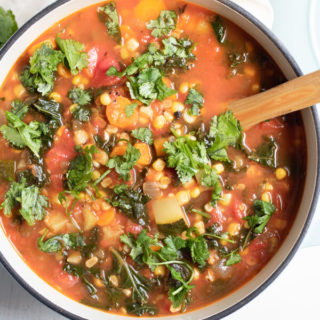The BEST Healthy Vegetable Soup Recipe