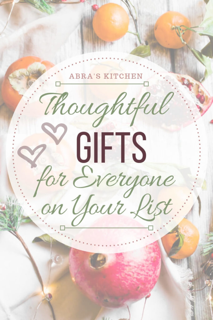Thoughtful Holiday Gift Guide