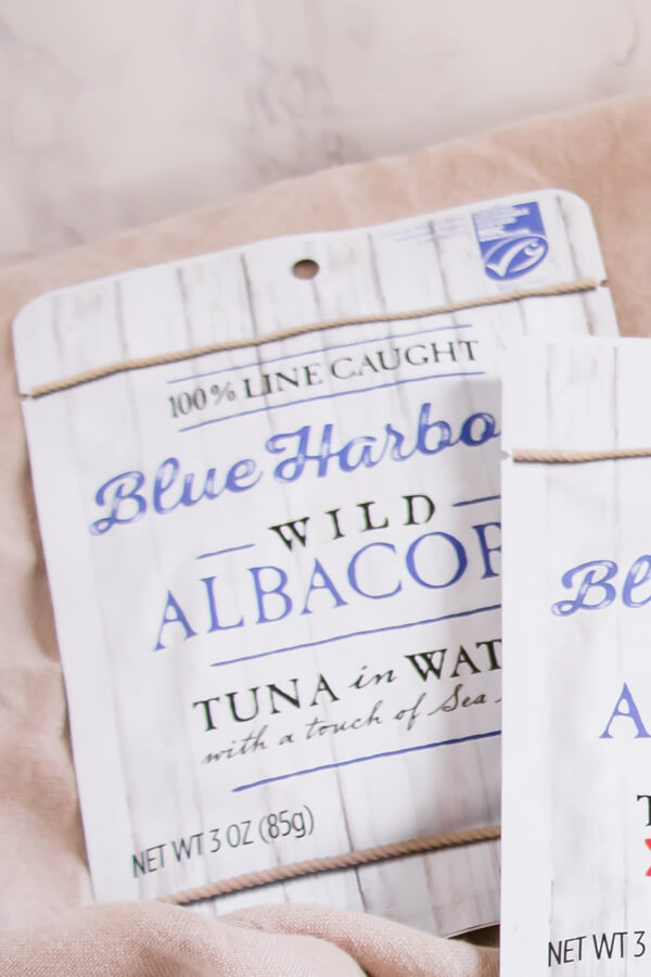 Blue Harbor Wild Albacore Tuna - Get ready for the perfect healthy summer dish, Tuna Nicoise Spring Rolls. All the deliciousness of a tuna Nicoise salad wrapped up in a tasty Spring Roll and served with a Dijon-olive dipping sauce. Perfect for a light lunch, or as a refreshing appetizer at your next BBQ.