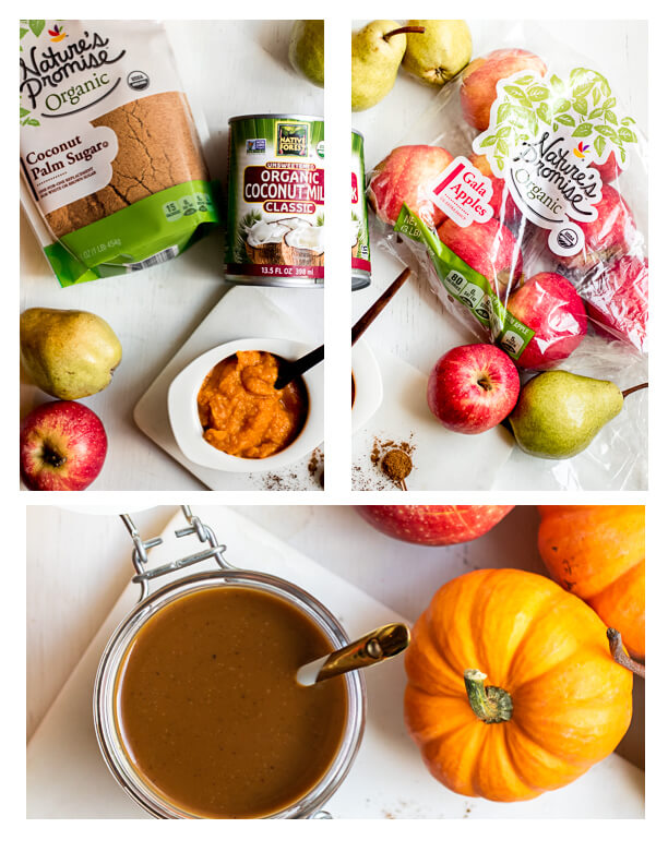 Vegan Pumpkin Caramel Sauce Ingredients