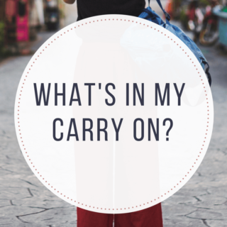 What's in my carry on. Healthy travel essentials that I never leave home without, and you may be surprised to find out what I don't take with me.