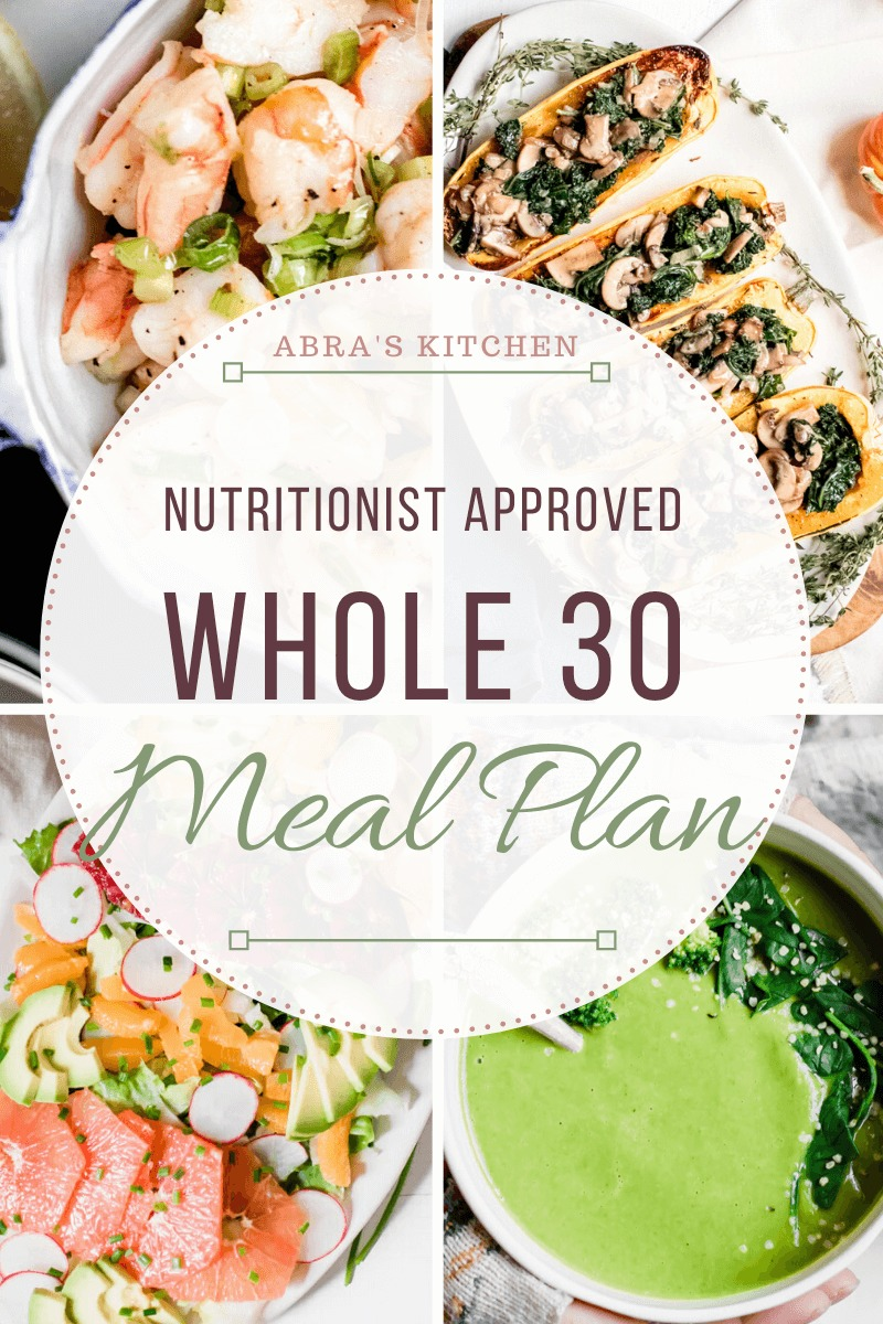 whole 30 day diet recipes